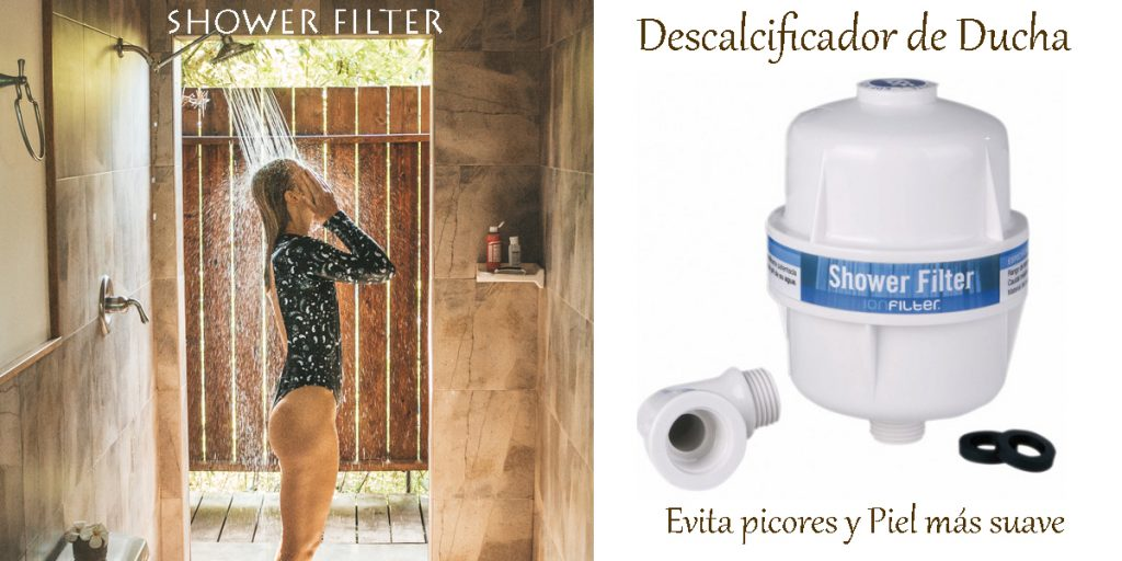 Descalcificador ducha SHOWER FILTER